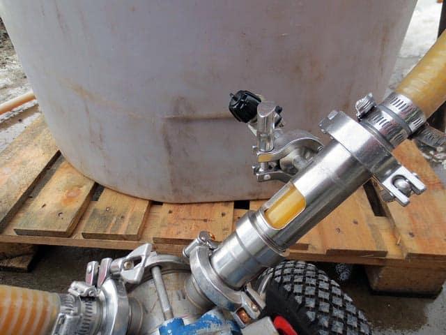 Pumping Ice Cider