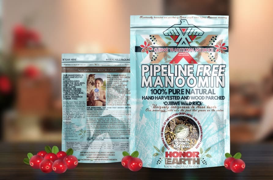 Order pipeline free wild rice from Honor the Earth.