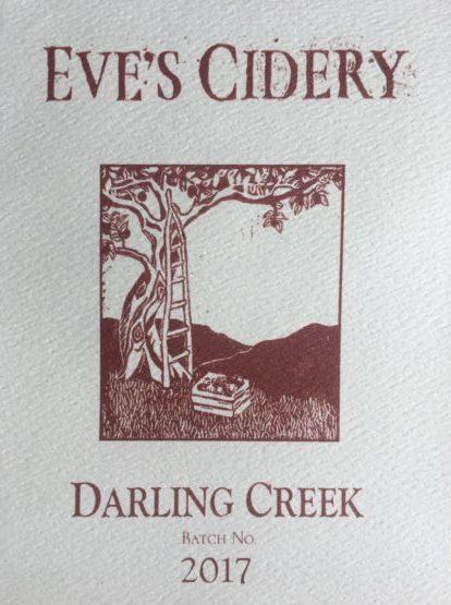 2017 Darling Creek label pic