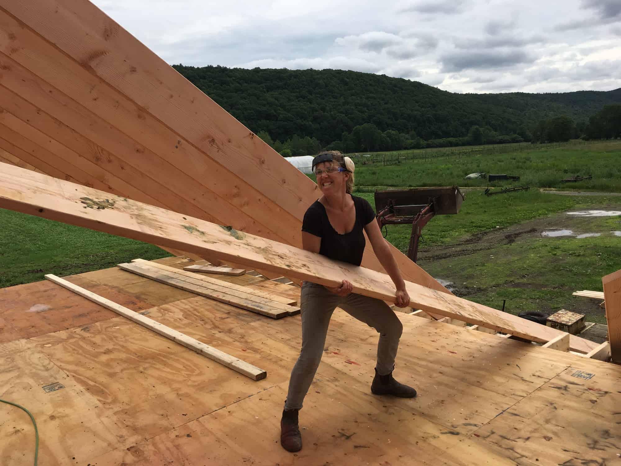 Lifting Rafters